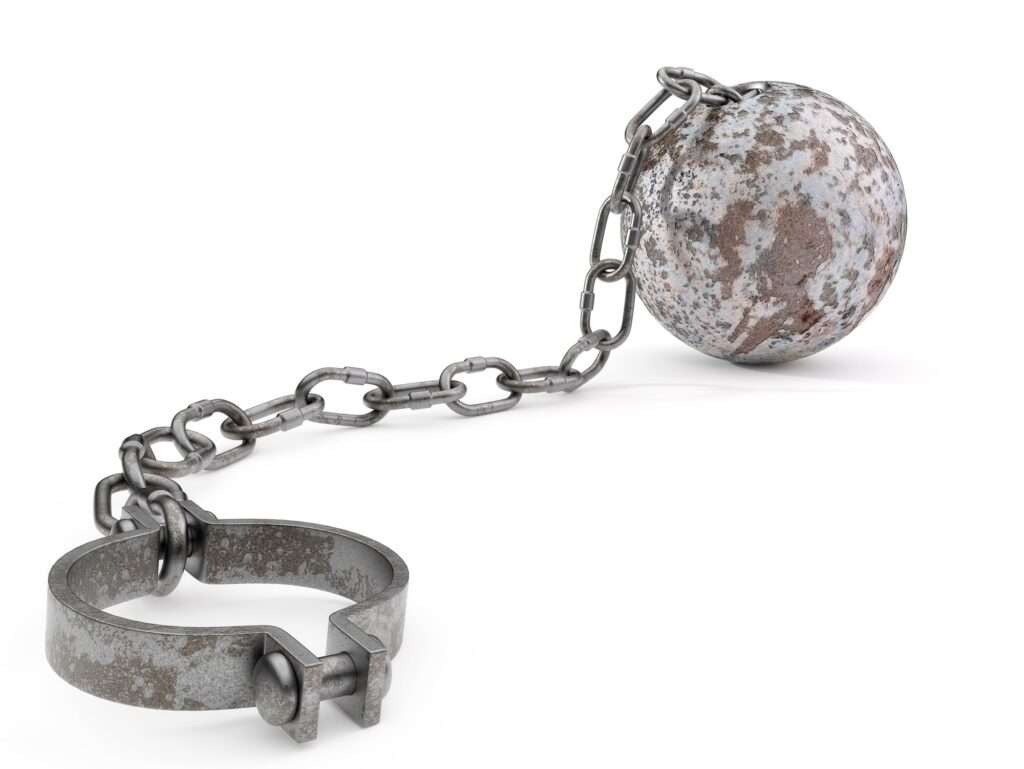 Rusty Ball and Chain