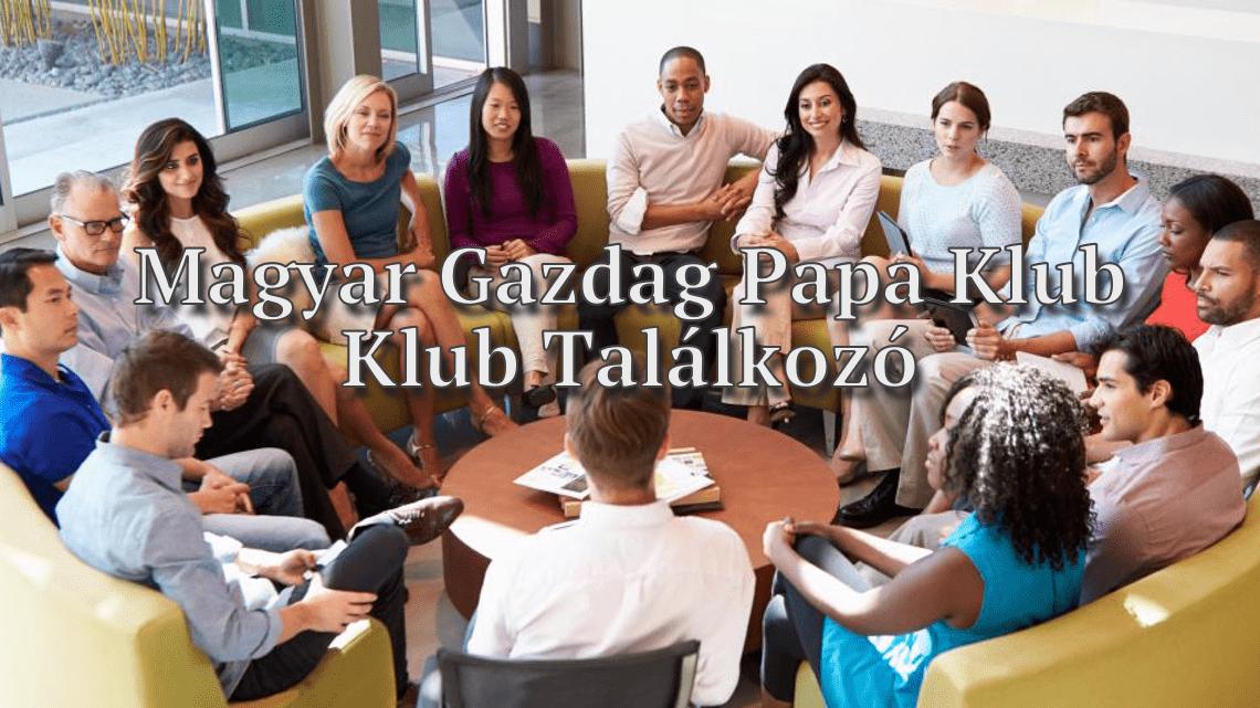 találkozója gazdag emberek)